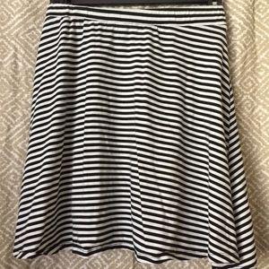 Striped a-line Skirt in Women